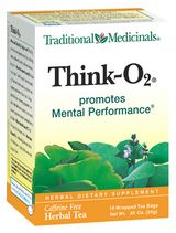Zoom View - Think O2 Tea - Promotes Mental Performance
