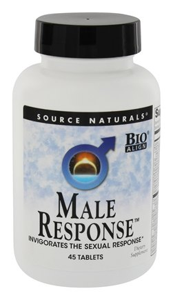 DROPPED: Source Naturals - Male Response - 45 Tablets CLEARANCE PRICED
