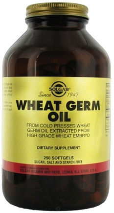 DROPPED: Solgar - Wheat Germ Oil - 250 Softgels