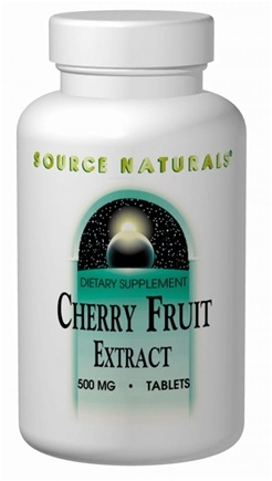 DROPPED: Source Naturals - Cherry Fruit Extract 500 mg. - 180 Tablets