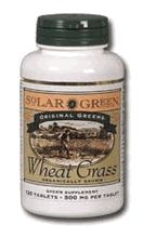 DROPPED: Sunny Green - Wheat Grass - 120 Tablets