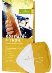 DROPPED: Teaology - Rosemary Citron - 6 Tea Bags