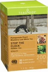 DROPPED: Teaology - Stop the Clock - 20 Tea Bags