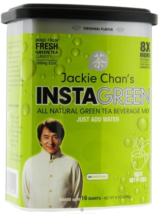 DROPPED: TeaTech - Jackie Chan's InstaGreen Original - 9 oz.