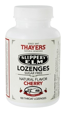 Zoom View - Slippery Elm Lozenges Sugar-Free