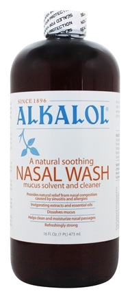Alkalol Company - Alkalol Mucus Solvent and Cleaner - 16 oz.