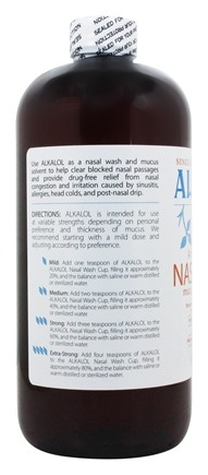Alkalol Mucus Solvent and Cleaner - 16 fl  oz  by Alkalol Company