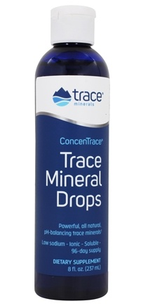Trace Minerals Research - ConcenTrace Trace Mineral Drops - 8 oz.