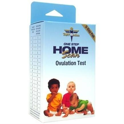 DROPPED: TestMedica - One Step Home Scan Ovulation Test - 5 Pack(s)