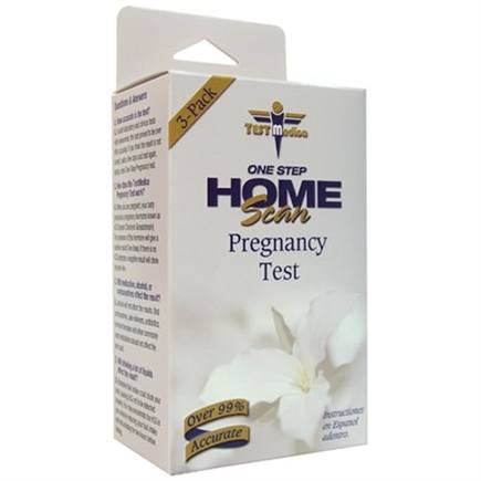 DROPPED: TestMedica - One Step Home Scan Pregnancy Test - 3 Pack(s) CLEARANCE PRICED