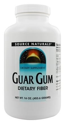 Source Naturals - Guar Gum Powder - 16 oz.