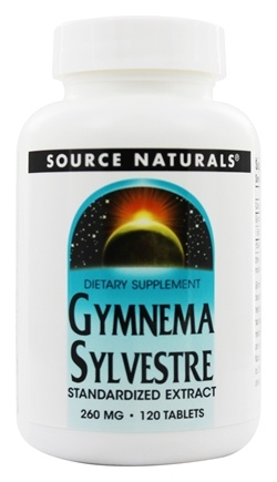 Source Naturals - Gymnema Sylvestre Standardized Extract 260 mg. - 120 Tablets