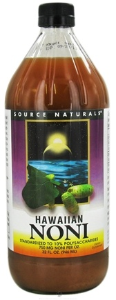 DROPPED: Source Naturals - Hawaiian Noni Liquid 750 mg. - 32 oz. CLEARANCE PRICED
