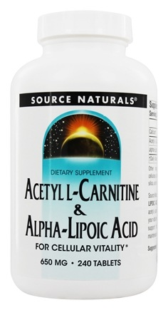 Zoom View - Acetyl L-Carnitine & Alpha-Lipoic Acid