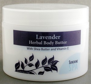 Zoom View - Body Butter Lavender