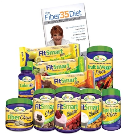 Zoom View - Fiber35Diet Complete Weight Loss Solution Power Package