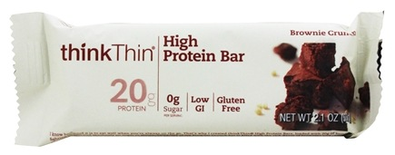 Think Products - thinkThin Protein Bar Brownie Crunch - 2.1 oz.