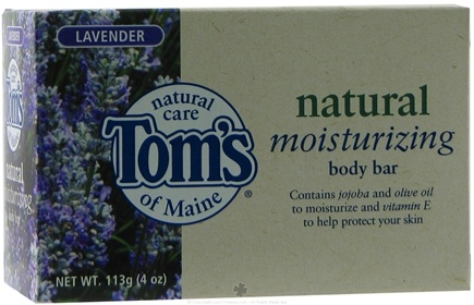 DROPPED: Tom's of Maine - Natural Body Bar Moisturizing Lavender - 4 oz.
