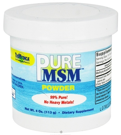 DROPPED: Trimedica - MSM Sulphur Powder - 4 oz.