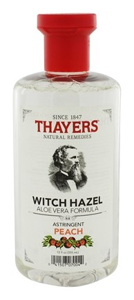 DROPPED: Thayers - Witch Hazel Astringent with Aloe Vera Formula Peach - 12 oz.