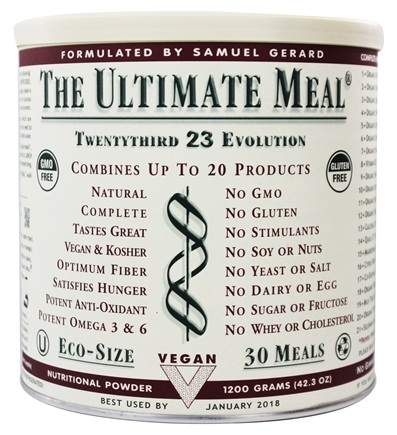 DROPPED: The Ultimate Life - The Ultimate Meal 30 Servings (1200 g) - 42.3 oz.