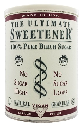 DROPPED: The Ultimate Life - The Ultimate Sweetener - 100% Pure Birch Sugar (909g) - 1.75 lbs.