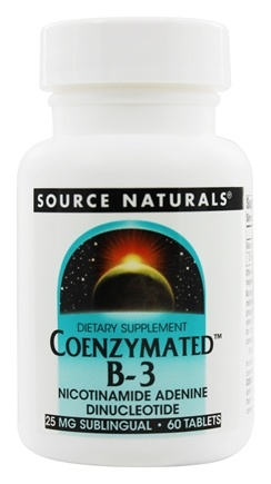 Source Naturals - Coenzymated B3 - 60 Tablets
