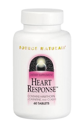 DROPPED: Source Naturals - Heart Response - 60 Tablets