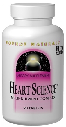 DROPPED: Source Naturals - Heart Science - 60 Tablets
