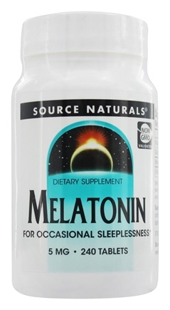 Source Naturals - Melatonin 5 mg. - 240 Tablets