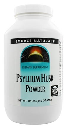 Source Naturals - Psyllium Husk Powder - 12 oz.