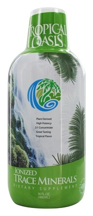 DROPPED: Tropical Oasis - Ionized Trace Minerals Tropical Flavor - 16 oz.