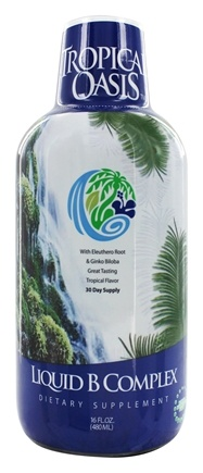 Tropical Oasis - Liquid B-Complex - 16 oz.