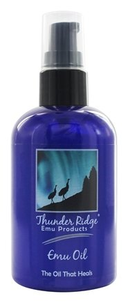Thunder Ridge Emu Products - 100% EMU Oil - 4 oz.