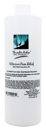 Thunder Ridge Emu Products - Intensive Pain Relief - 16 oz.