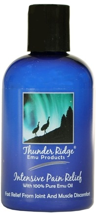 DROPPED: Thunder Ridge Emu Products - Intensive Pain Relief - 4 oz. CLEARANCE PRICED