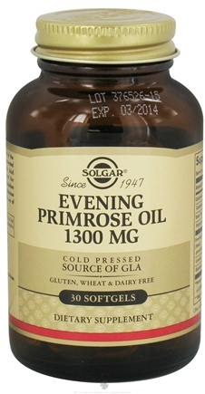 DROPPED: Solgar - Evening Primrose Oil 1300 mg. - 30 Softgels CLEARANCE PRICED
