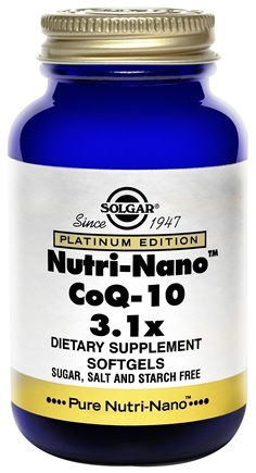 Zoom View - Platinum Edition Nutri-Nano CoQ-10 3.1x