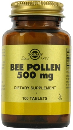 DROPPED: Solgar - Bee Pollen - 100 Tablets