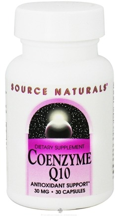 DROPPED: Source Naturals - CoEnzyme Q-10 30 mg. - 30 Capsules CLEARANCE PRICED