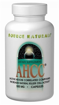 DROPPED: Source Naturals - AHCC 750 mg. - 60 Capsules