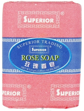 DROPPED: Superior Trading Company - Rose Soap - 2.85 oz. CLEARANCE PRICED