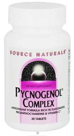 DROPPED: Source Naturals - Pycnogenol Complex - 30 Tablets CLEARANCED PRICED