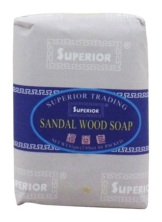 Superior Trading Company - Sandalwood Soap - 2.85 oz.