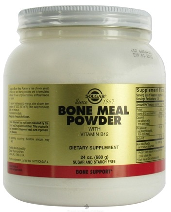 DROPPED: Solgar - Bone Meal Powder - 24 oz.