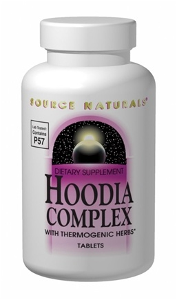 DROPPED: Source Naturals - Hoodia Complex with Thermogenic Herbs - 45 Tablets