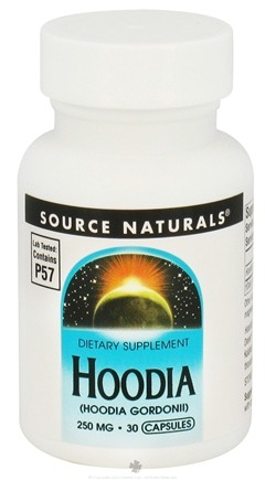 DROPPED: Source Naturals - Hoodia Extract 250 mg. - 30 Capsules CLEARANCED PRICED