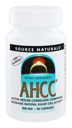Source Naturals - AHCC with Bioperine - 30 Capsules