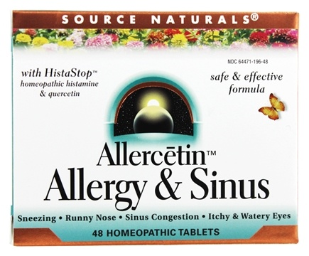 Zoom View - Allercetin Allergy & Sinus With HistaStop
