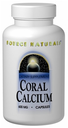 DROPPED: Source Naturals - Coral Calcium 600 mg. - 240 Tablets